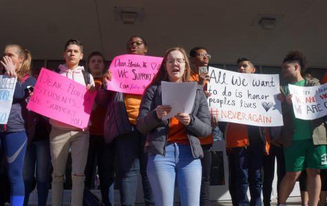 Students walk out for change