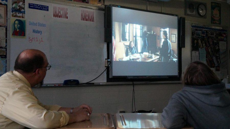"Students enjoy ""History in Hollywood"" Club"