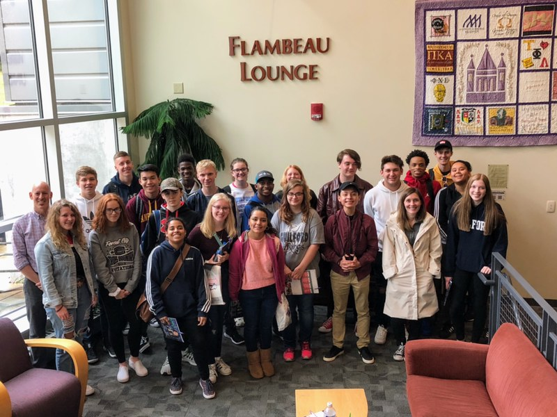 Newspaper & Yearbook Students attend annual journalism conference at University of Wisconsin-Whitewater