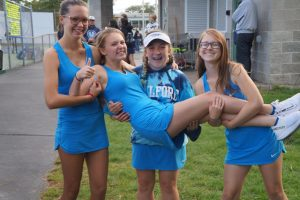 Freshmen introduced to the challenges of Girls Tennis
