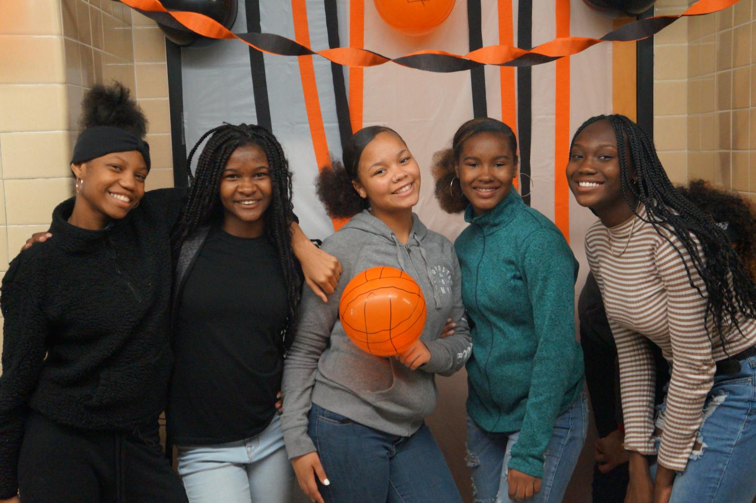 Guilford students volunteer at the 2019 fall festival.
