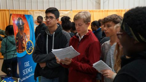 Freshmen explore career opportunities at Sportscore 2 Expo