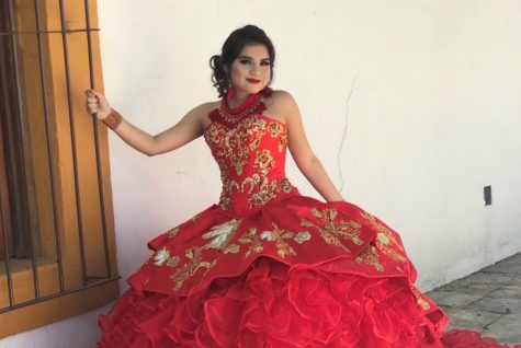 Jennifer Ortiz, 10, celebrated her Quince in Guanajuato, Mexico.
