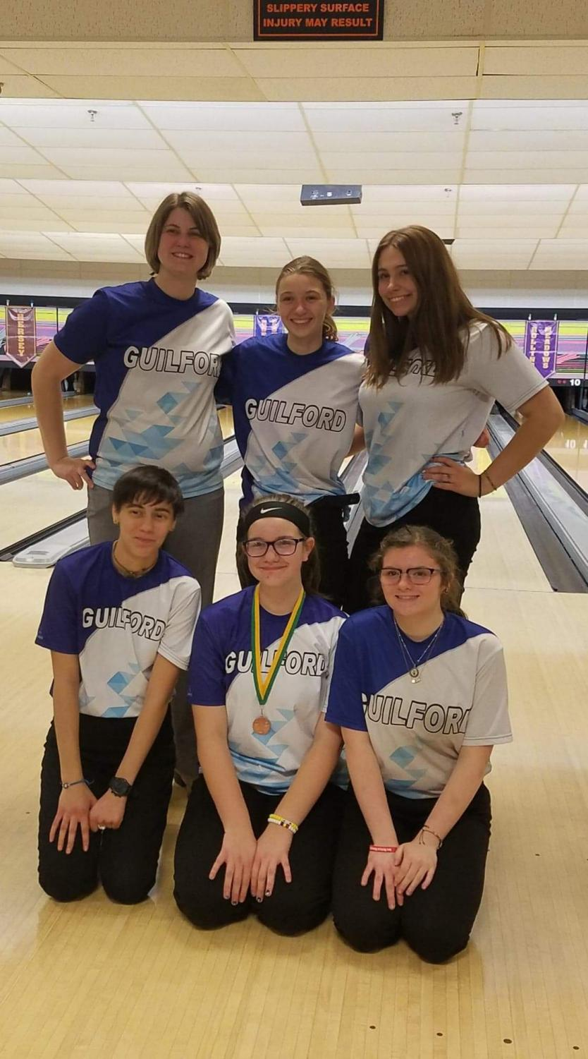 The girls bowling team performed well in Arlington heights with LeAnn Severson (9) finishing 6th individually