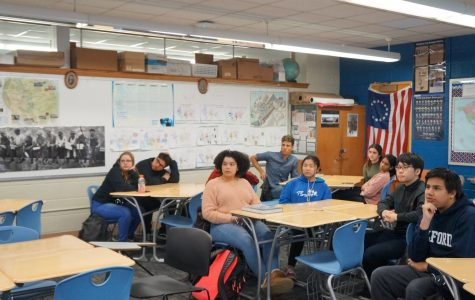 Guilford Juniors listen to presentations to better their skills before Mock interviews.