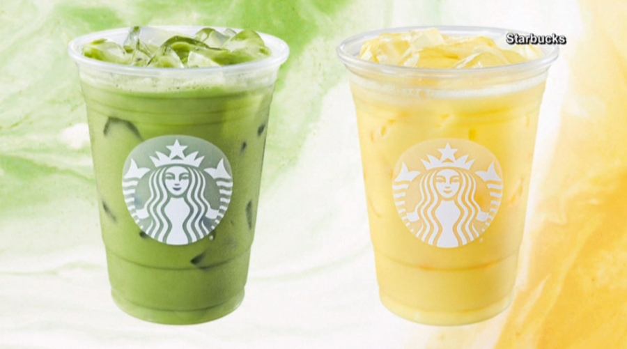 The new spring lineup of drinks at Starbucks. Credit: 13WREX