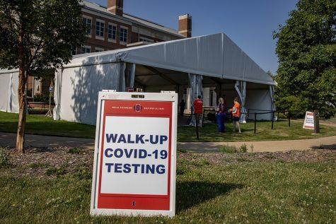 COVID-19 testing in Illinois. Image credit: Illinois News Bureau