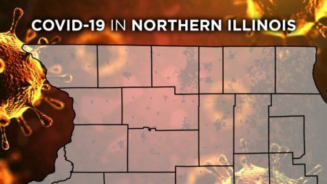 Region 1 of Counties within COVID lockdown in Northern Illinois. Credit: 13WREX.