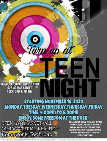 Teen Night - Gaming, virtual reality, and open court at Ken Rock Community Center