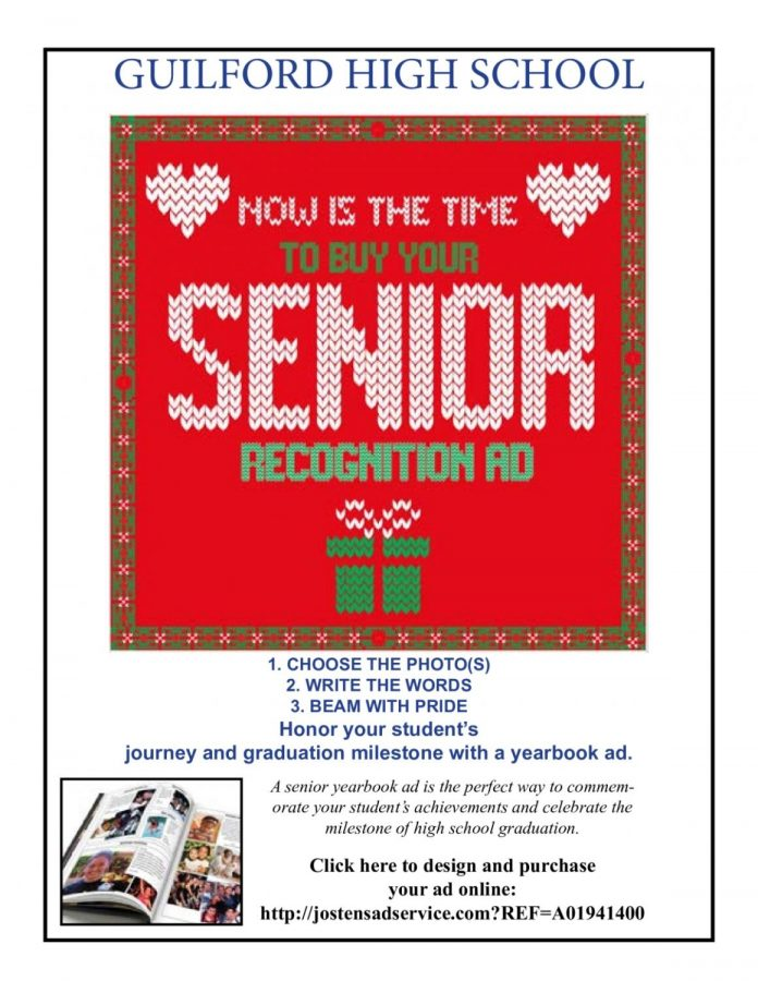 Now is the time to buy your Senior recognition ad!