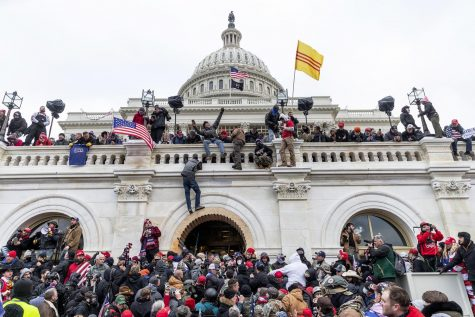 Rioters at the U.S. Capitol, image credit: NBC News