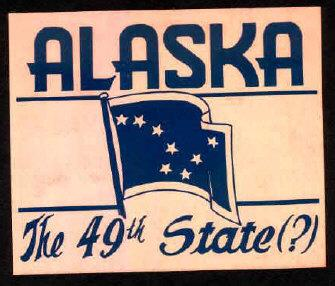 Alaska Becomes a State in 1959