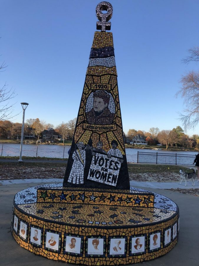 New Monument Celebrates 100 Years of Women's Suffrage