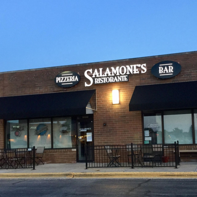 Salamone's North pizzeria by Guilford High School
