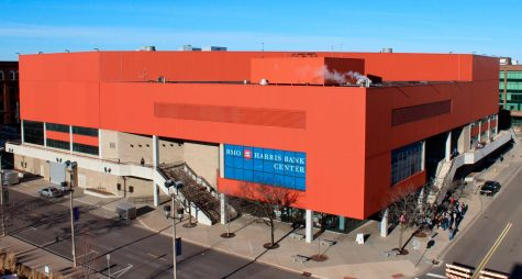 The BMO Harris Bank Center. Image credit: ASM Global
