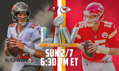 Super Bowl LV Match-up: Tampa Bay Bucs vs. Kansas City Chiefs