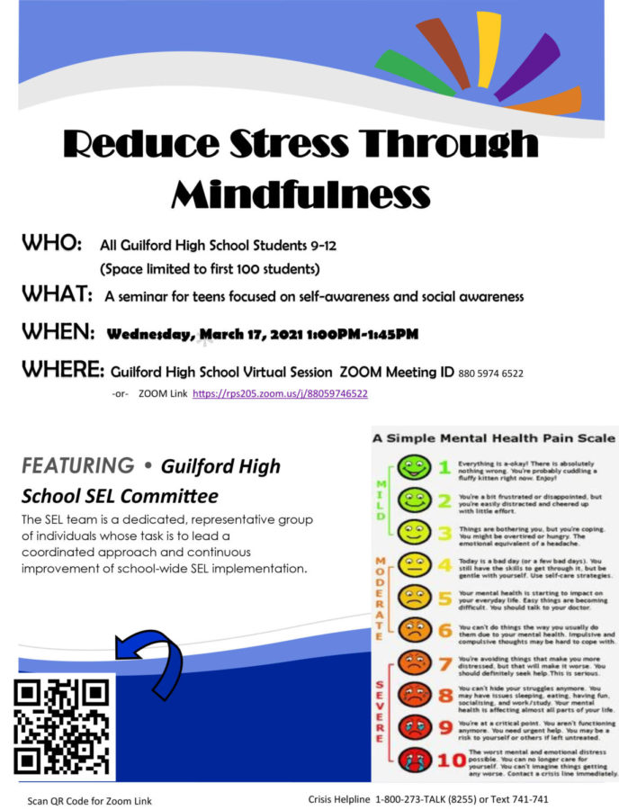Wellness Wednesday seminar: Reduce Stress Through Mindfulness