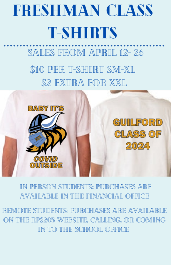 Class T-shirts for sale!