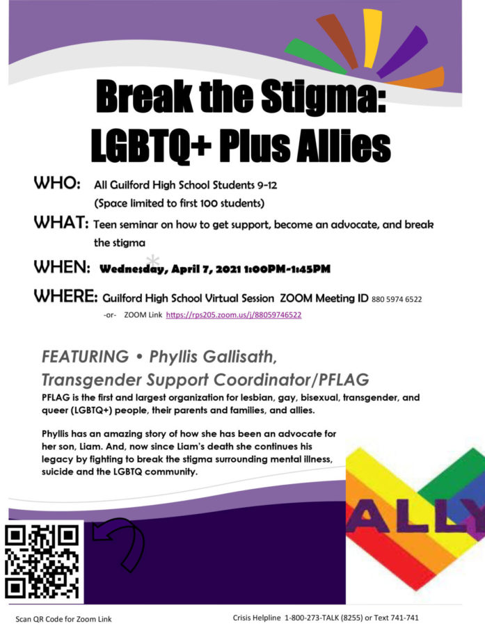 Wellness Wednesday Seminar: Break the Stigma: LGBTQ+ Plus Allies