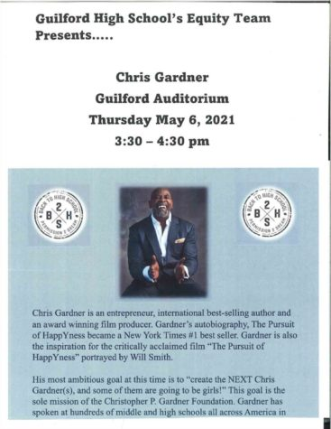 Chris Gardner presentation offers live question/response