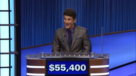 Matt Amodio surpasses competition in Jeopardy!