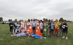 Cross Country team out-costumes the competition